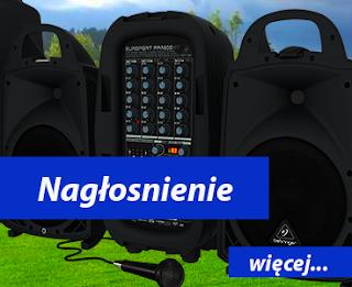 Nagłośnienie dj dmuchańce Wrocław