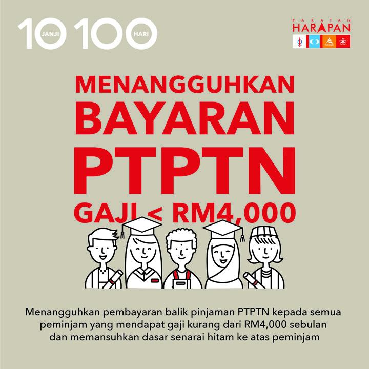 10 Janji 100 Hari Kerajaan Pakatan Harapan