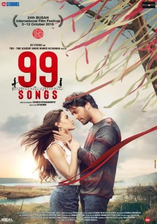 99 Songs 2019 Hindi Dubbed HDRip 480p 300Mb