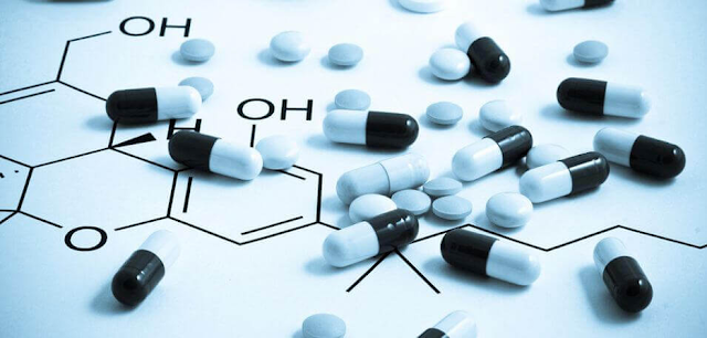 chemicals and tablets