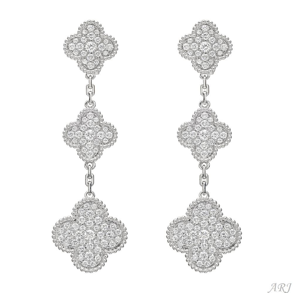 Camilla S Jewels Van Cleef Arpels Magic Alhambra Earrings