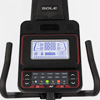 Sole R92 Recumbent Bike console with Bluetooth & tablet holder, image