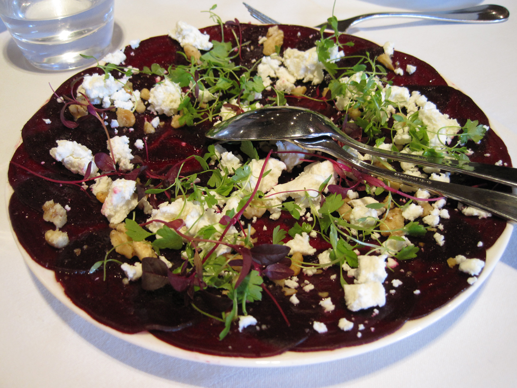 Beetroot and Feta Side Salad with Walnuts by Marco Pierre White