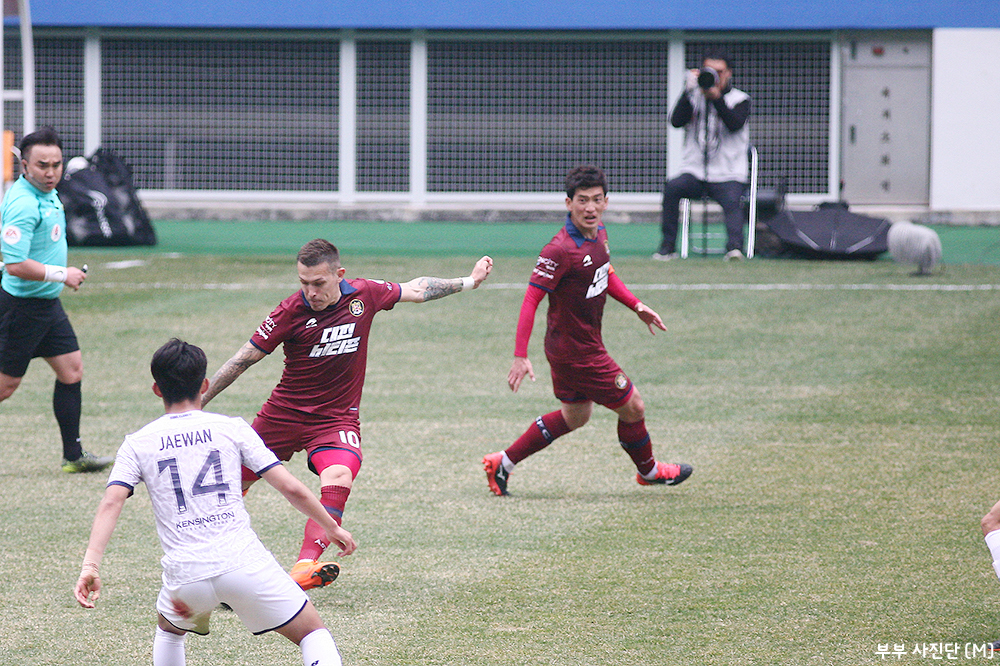 Seongnam FC versus Daejeon Citizen FA Cup 3rd round K League 2