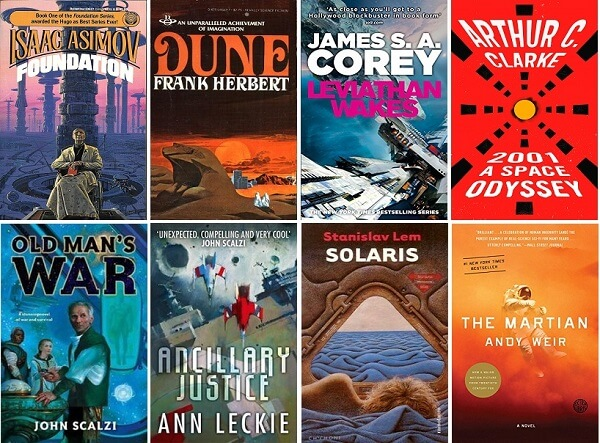 Must-Read: Science fiction novels, book series and books about space