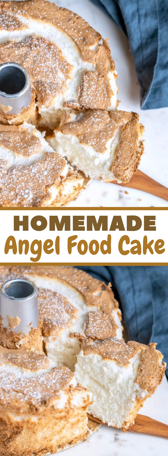 Angel Food Cake #dessert #cakerecipe