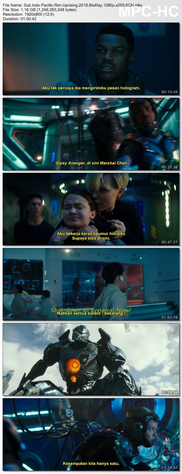Screenshots Download Film Gratis Pacific Rim: Uprising (2018) BluRay 480p MP4 Subtitle Bahasa Indonesia 3GP