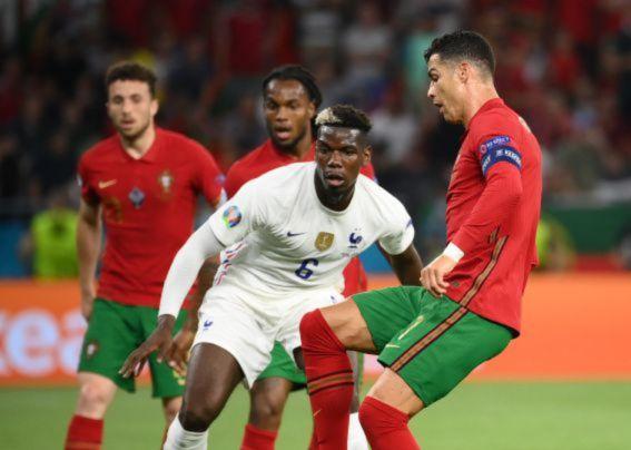 France 2:2 Portugal
