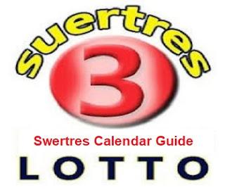 Swertres Calendar Guide