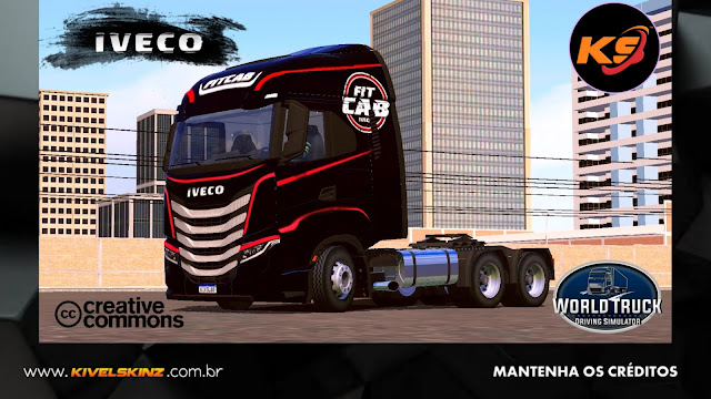 IVECO S-WAY - FITCAB EDITION BLACK