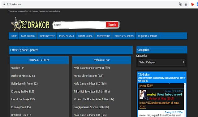 8 Situs Download Film Korea Dan Drama Subtitle Indonesia Terbaru 2019