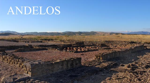 Andelos, villa romana