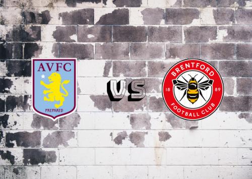 Aston Villa vs Brentford  Resumen