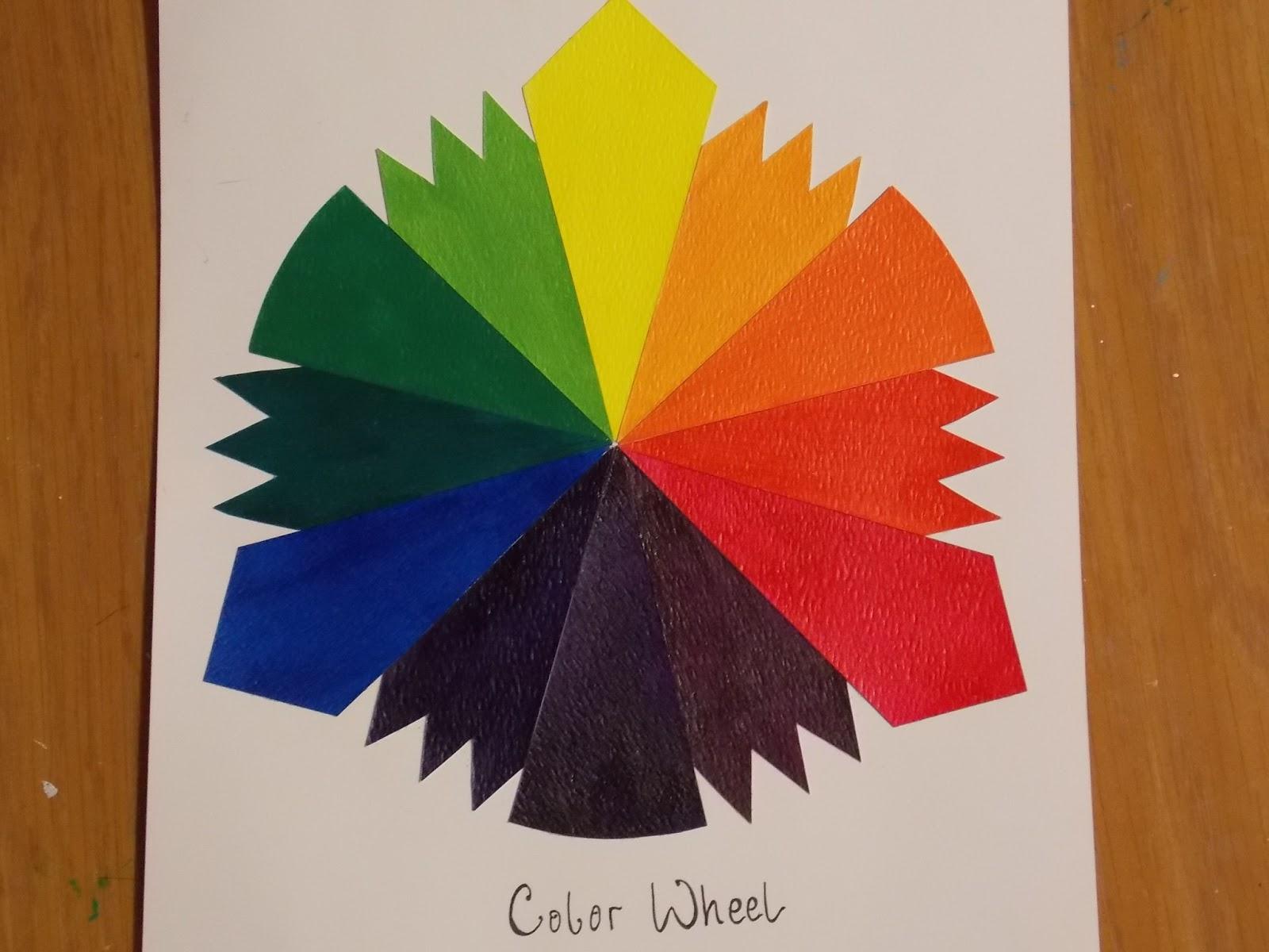 Gweenkent Color Wheel Assignment
