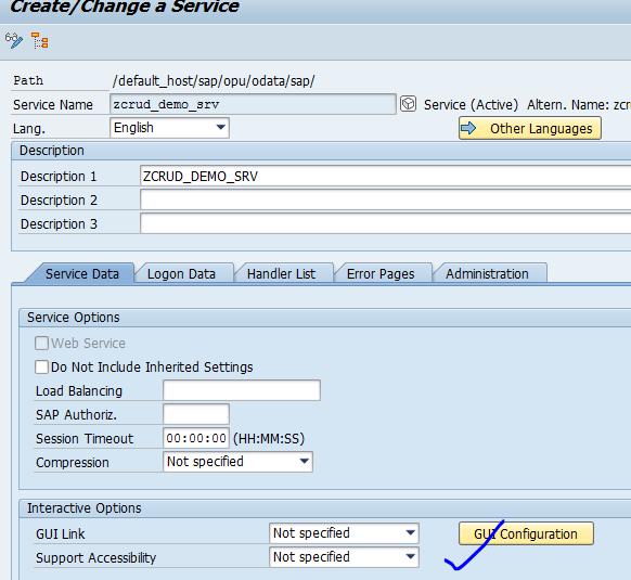 SAP Netweaver Blog: Testing oData Service using External