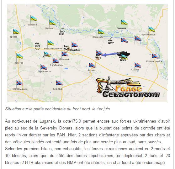 Soutien 224 La R 233 Bellion Du Donbass Sitrep Du 2 Juin 2015