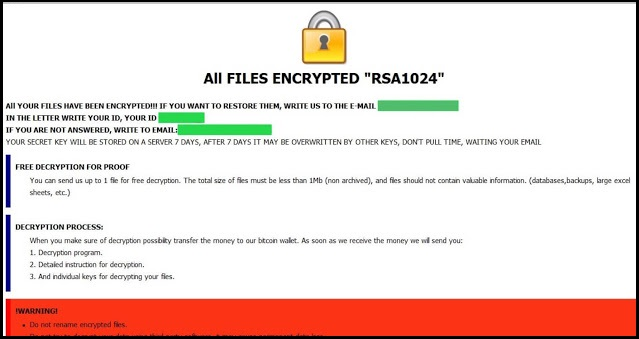 [Cryptocash@aol.com].CASH Ransomware