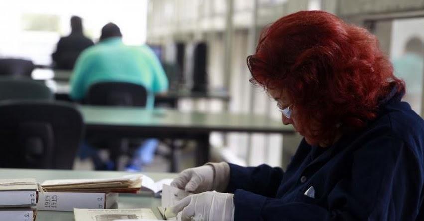 Donan libros para invidentes a la Biblioteca Nacional del Perú