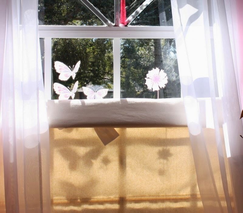 House, Deco and Crafting: DIY Top-Down/Bottom-up Roman Shades