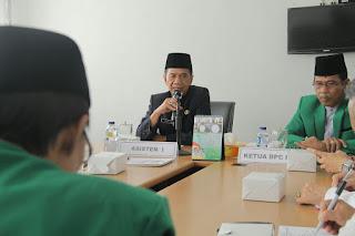 ASISTEN I : Tingkatkan Koordinasi Dukung LKKD DPC PPP