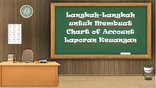 Langkah-Langkah untuk Membuat Chart of Account Laporan Keuangan