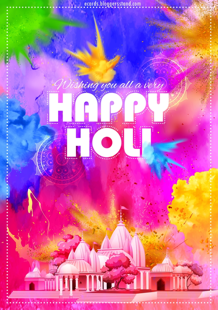 happy holi 2021 stock images in HD
