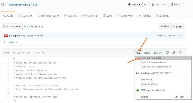Cara Mendaftar dan Hosting File di GitHub