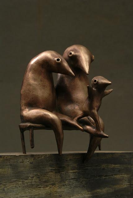Aurelija Šimkutė, imagenes de esculturas chidas, arte inspirador, familia