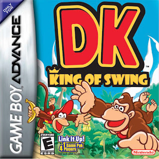 Carátula del cartucho de la Game Boy Advance, DK: King of Swing, 2005