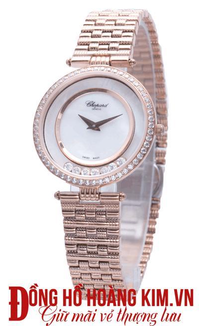 đồng hồ nữ chopard dây sắt giá rẻ
