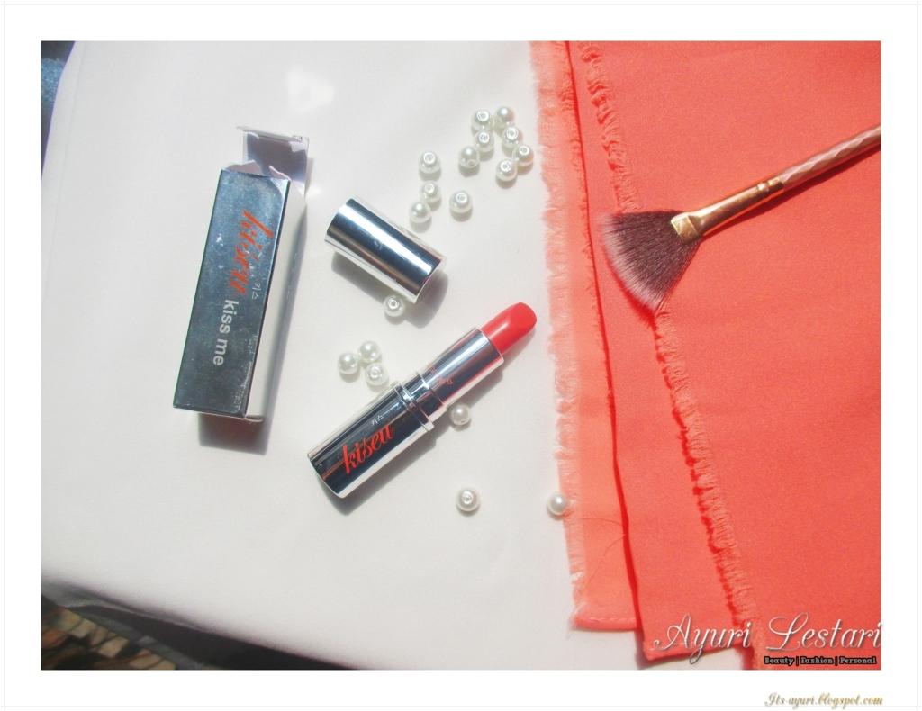 Sarange Lipstick Kiseu -Noble Lips (Review + Swatch)