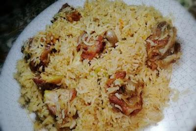Mutton rice/mutton pulao recipe