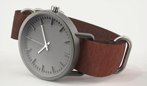 3d printed watch beautiful expensive wristwatches titanium leather straps