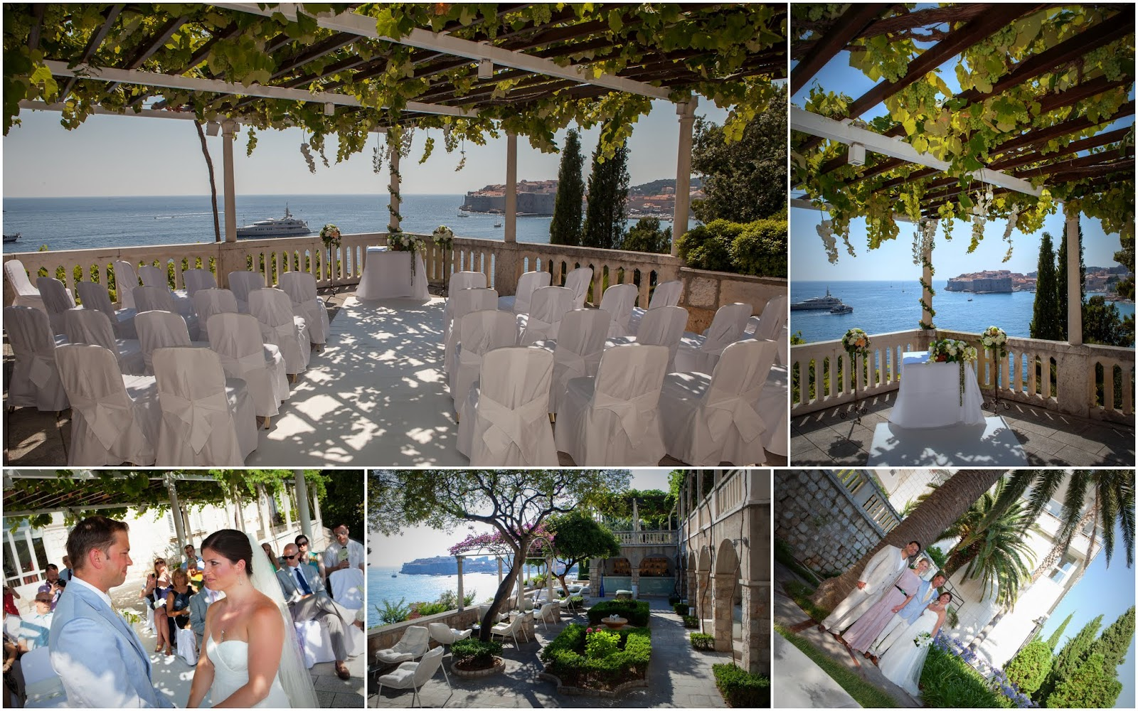 Ceremony Reception Following: Grand Villa Argentina, One Of Dubrovnik's Luxurious Five