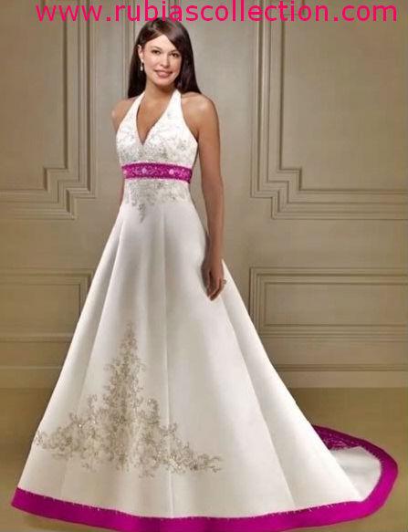 White And Fuschia Wedding Dresses | Wedding Gallery