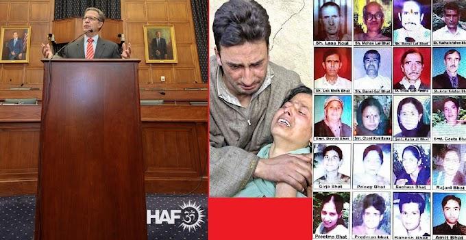 US Hindu American Foundation honours activists for Kashmiri Pandit rights