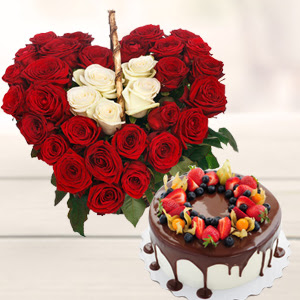 How the flowers and the cakes are delivered in Surat?