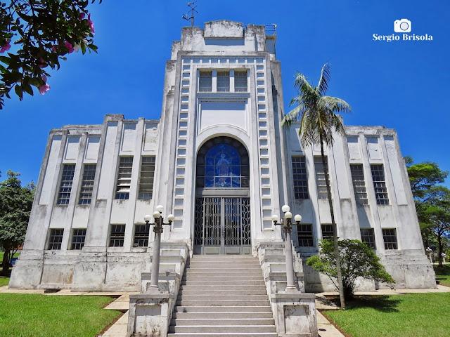 Vista ampla do antigo Prédio Administrativo do IAG - Parque CienTec - Água Funda - São Paulo