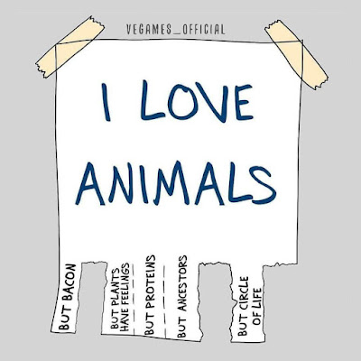 I love animals but