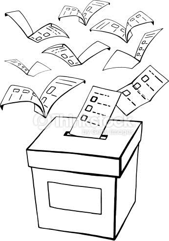 Derecho Al Voto Para Colorear Aprendamos Pintando