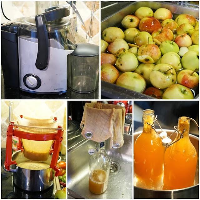 hemmagjord äpplemust
