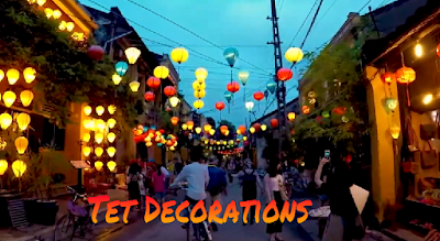 Traditional Vietnamese Lunar New Year Decorations