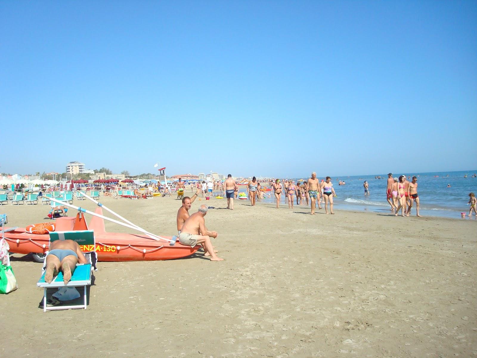 The Beach At Rimini