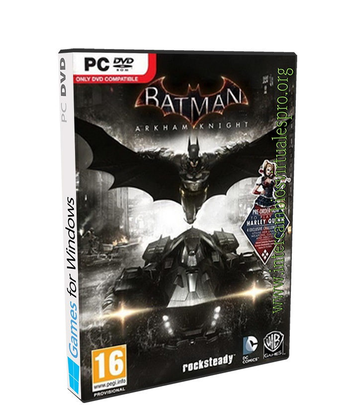 BATMAN ARKHAM KNIGHT poster box cover