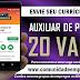 AUXILIAR DE PRODUÇÃO, 20 VAGAS COM SALÁRIO R$ 1000,00 PARA O CABO DE SANTO AGOSTINHO
