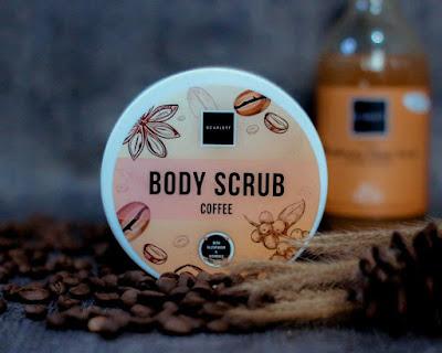 Scarlett Body Scrub Coffee Edition