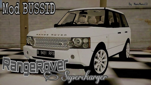 Mod Bussid Range Rover Supercharged