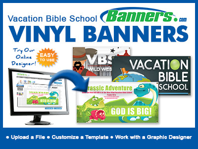 Custom Vacation Bible School Banners | Banners.com