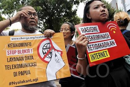 Internet di papua diblokir, ini kata Jokowi