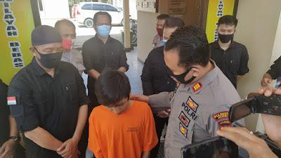 Polsek Kotabaru Berhasil Bekuk Pelaku Pencurian Di Rumah Makan Salero Bundo